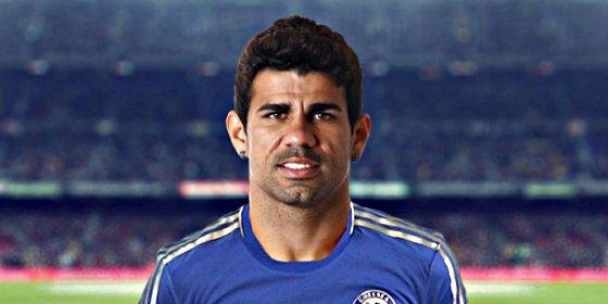 Ingresan a Diego Costa en el hospital