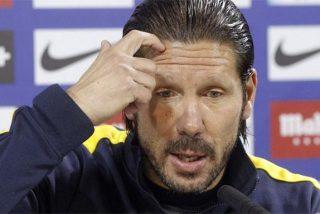 La bronca de Simeone a sus jugadores