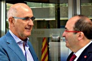 Duran (CiU) e Iceta (PSC) exploran una nueva alianza para gobernar Cataluña