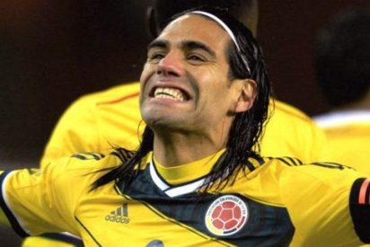 Falcao revoluciona Twitter con una camiseta del Madrid para desgracia atlética
