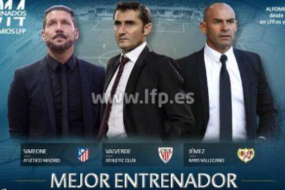 Jémez, Simeone o Valverde serán el mejor entrenador de la temporada