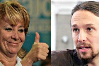 Esperanza Aguirre cruje a Pablo Iglesias con 1500 euros gracias a una chapuza de Monedero