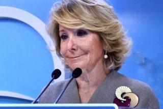 """A Esperanza Aguirre ya no le quedan colores para tanto bochorno: """"Pido perdón por haber confiado en Granados"""""""