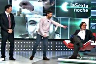 "Jordi Évole a Paco Marhuenda: ""¿Te estás dejando coleta?"""