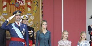 Felipe VI, su primer desfile del Día de la Hispanidad como Rey