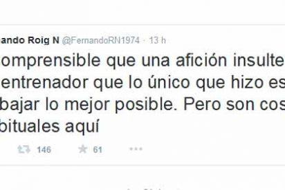 Fernando Roig arremete contra los aficionados del Sevilla