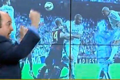 Juanma Rodríguez vacila a TV3 y Carles Torras con una foto de Franco en el clásico