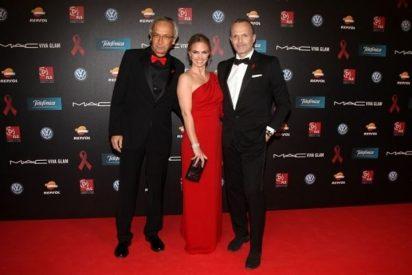 Miguel Bosé y Genoveva Casanova ponen en marcha la 5ª Gala contra el Sida en Barcelona