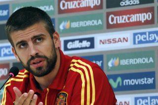 La broma que gastó Piqué a Suárez por su mordisco