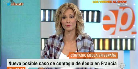 """Susanna Griso: """"Hemos dedicado en investigación al ébola menos de lo que se gasta Blesa en comidas"""""""