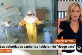 Griso monta en cólera contra quienes tardaron seis días en hacerle las pruebas a la contagiada por el ébola