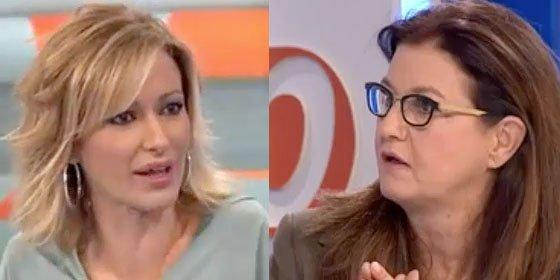 """Susanna Griso remata a Mónica Oriol: """"No es la primera vez que usted se mete en un charco"""""""