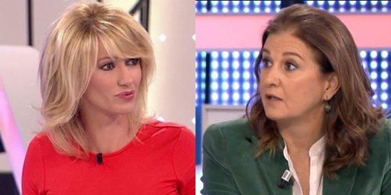 Susanna Griso pone el grito en el cielo contra Mónica Oriol por asegurar que es un problema contratar a una mujer en edad de embarazarse