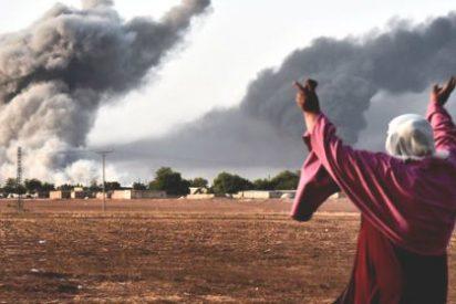 """EEUU dice que los bombardeos en la ciudad siria de Kobani obedecen a """"motivos humanitarios"""""""