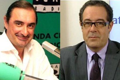 """Carlos Herrera acorrala a un político de CiU: """"La consulta no es democrática porque usted a mí no me deja opinar"""""""
