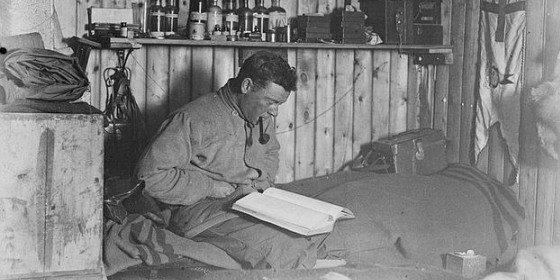 El diario de un explorador de la Antártida que ha permanecido un siglo bajo el hielo