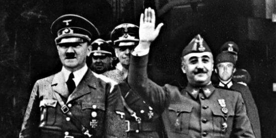 Hitler y Franco se llevaban fatal y se detestaban en secreto