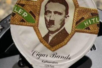 A una cadena de supermercados se le ocurre vender envases de nata con la cara de Hitler y Mussolini