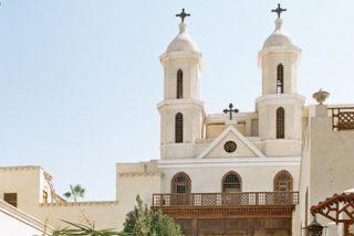 La Iglesia Colgante de Egipto