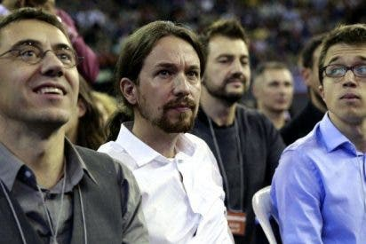 El coro (Podemos) y el solista (Pablo Iglesias)