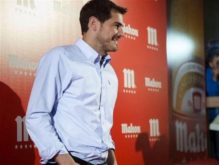 Iker Casillas, el encargado de inaugurar el primer 'Sport Bar' del aeropuerto Adolfo Suárez Madrid-Barajas