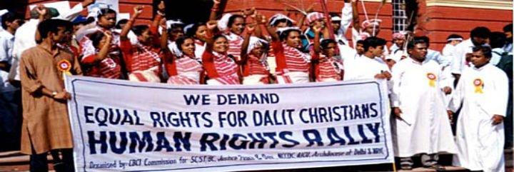 Los dalits católicos alzan la voz y crean una iglesia dentro de la Iglesia