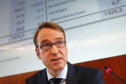 El presidente del Bundesbank critica las últimas medidas del BCE