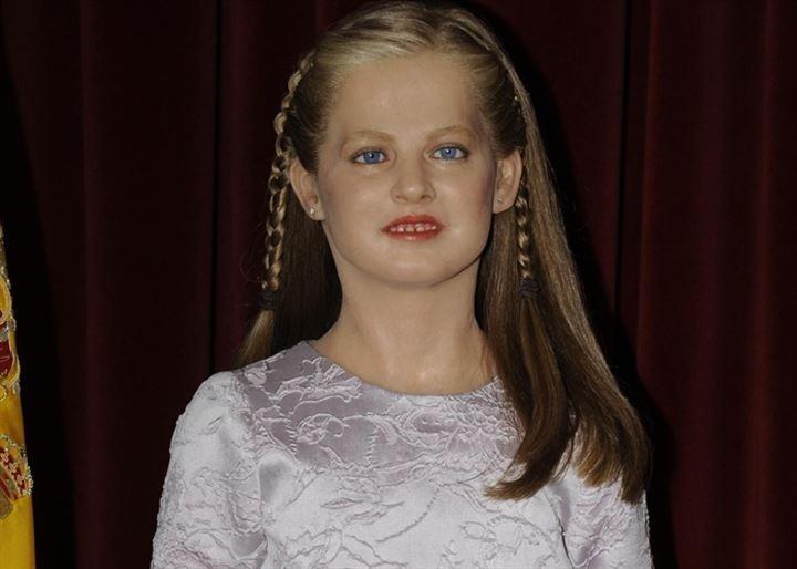 La Princesa Leonor ya está en el Museo de Cera