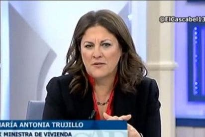 """La socialista Trujillo arropa al tarjetero Iranzo: """"Agradezco tu valentía, te deseo mucho suerte"""""""