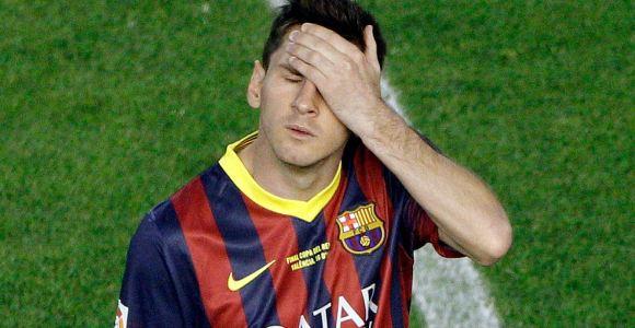 Desvelan la causa de los vómitos de Messi