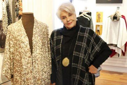 Lola Herrera se lanza al mundo de la moda y muestra su faceta como diseñadora