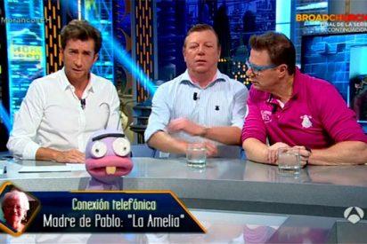 La desesperación de Pablo Motos al ver cómo su propia madre promociona T5 en 'El Hormiguero¡ (A3)