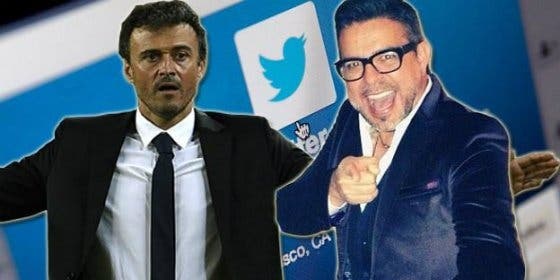 Desean la muerte a un cantante a través de Twitter al confundirle con Luis Enrique