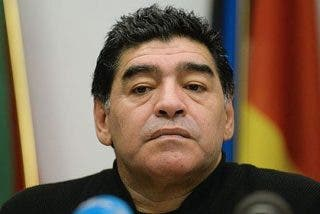Maradona quiso ser mafioso en Torrente 5