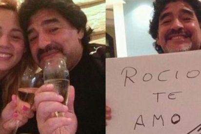 Difunden un vídeo de Maradona pegando a su pareja