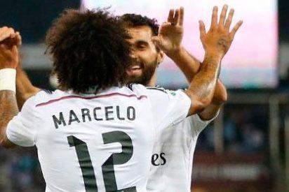 Fiesta en Cornellá: festival goleador de los blancos y gol del honor para los locales (1-4)