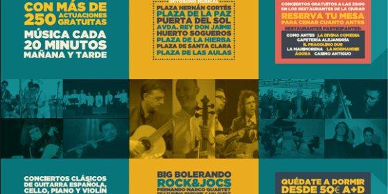 El Mare Nostrum continúa inundando de música las calles de Castellón