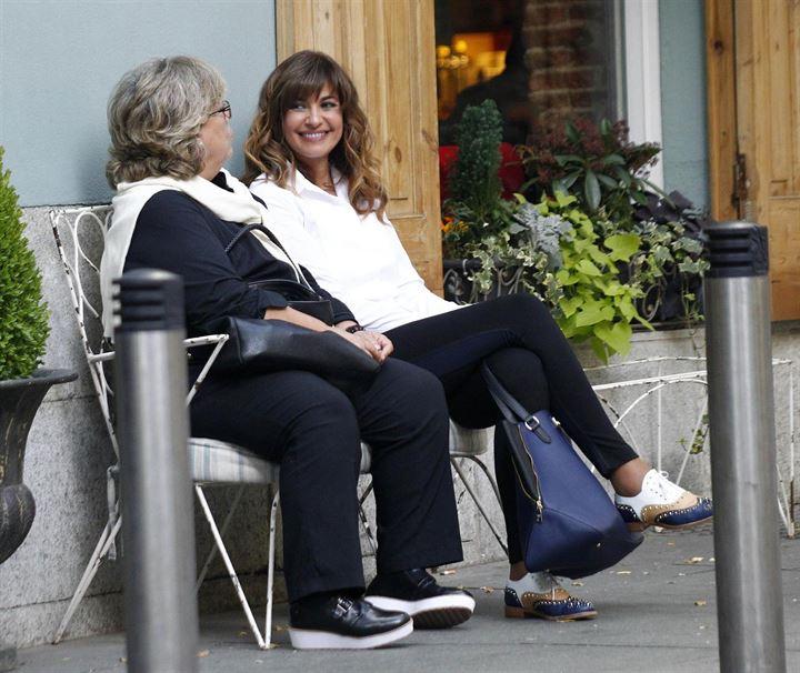 Mariló Montero sale a almorzar con una amiga