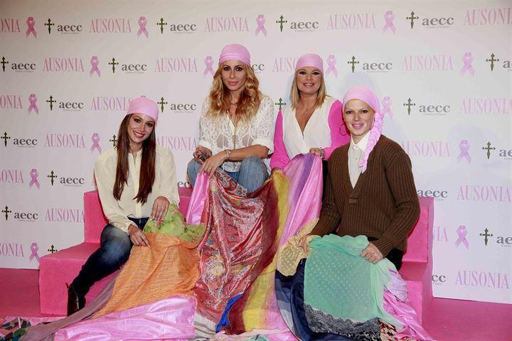Marta Sánchez, Terelu, Eva González y Bimba Bosé, embajadoras del día contra el cáncer de mama