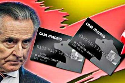 Los 10 caraduras que más dinero gastaron con la tarjeta black de Caja Madrid