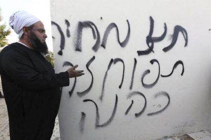Judíos radicales incendian una mezquita