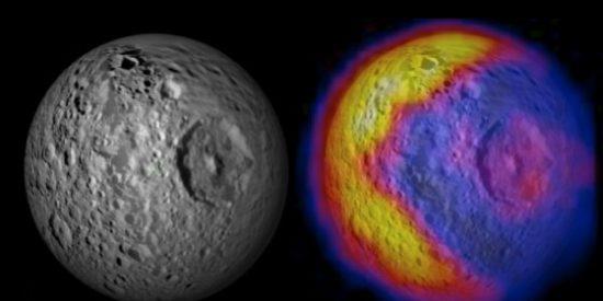 La gran sorpresa que se han encontrado en los 'subterráneos' de Mimas, la luna de Saturno