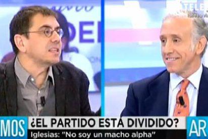 """Las groserías de Monedero para ganar debates: """"El único que es más feo en vivo que en la televisión es Eduardo Inda"""""""