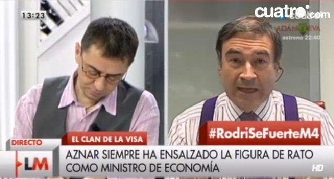 "Pedrojota a Monedero: ""Tenéis una vocación de guillotinadores que no veas"""