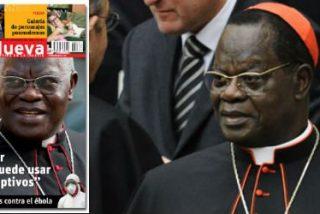 """Cardenal Monsengwo: """"Una mujer violada puede usar anticonceptivos"""""""