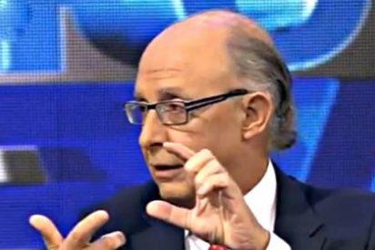 """Cristobal Montoro: """"En España hay una diferencia salarial exagerada, pero los ricos pagan"""""""