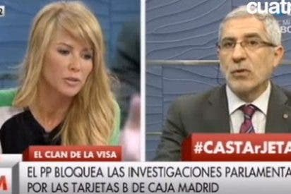 Montse Suárez se sube a las barbas de Llamazares por eludir la responsabilidad de IU con las 'black card'