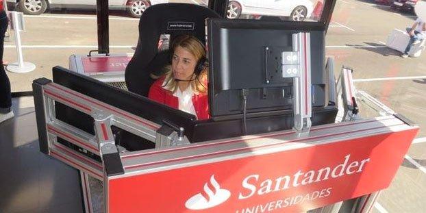 La Complutense de Madrid participa en la competición de F1 del Motorhome