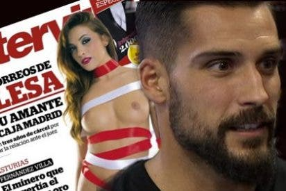 La primera novia de Moyá, desnuda en la portada de Interviu