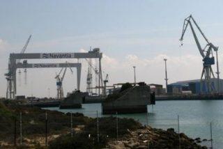 El Gobierno garantiza que Defensa no decidirá la actividad civil de los astilleros de Navantia